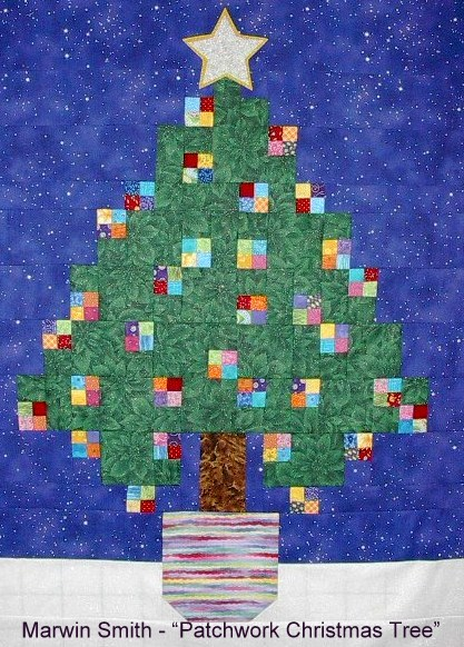 Smith - Patchwork Christmas Tree