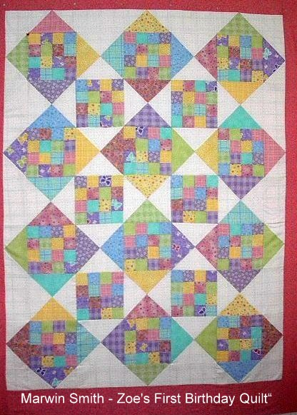 Smith - Zoe's First Quilt